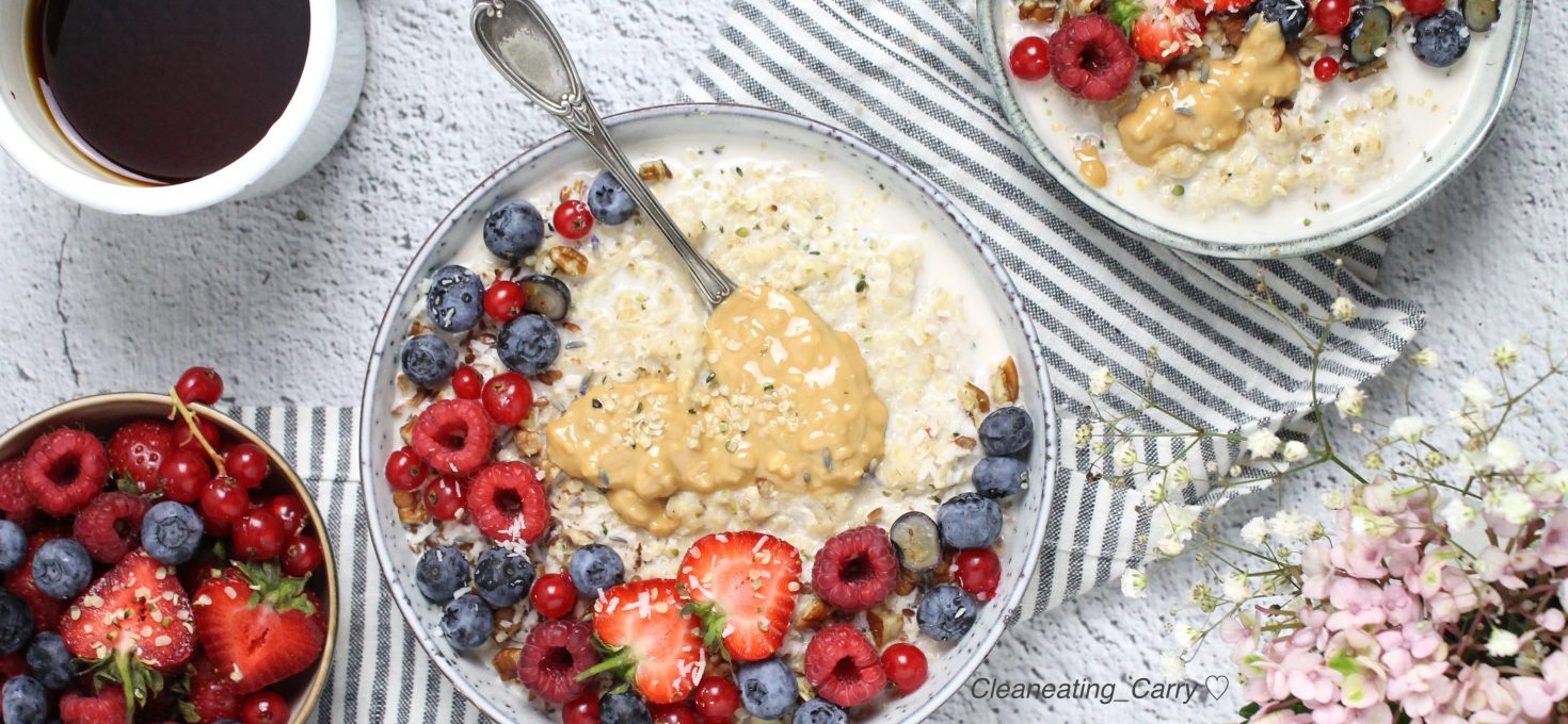 Oatmeal Berry Bowl