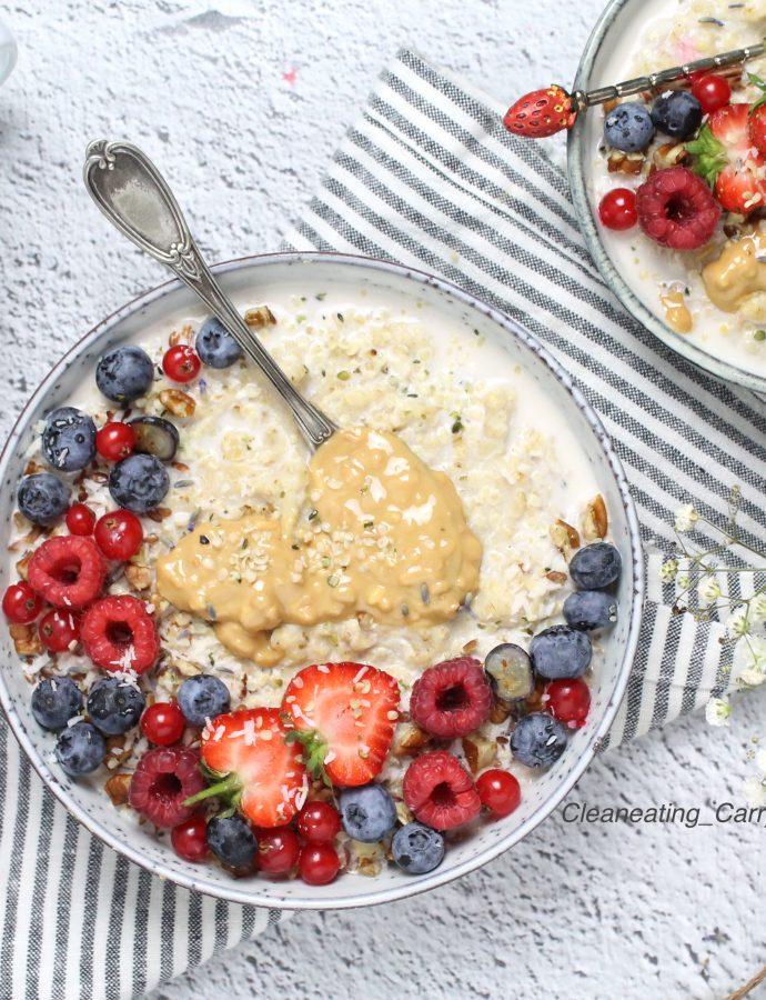 Oatmeal Berry Bowl