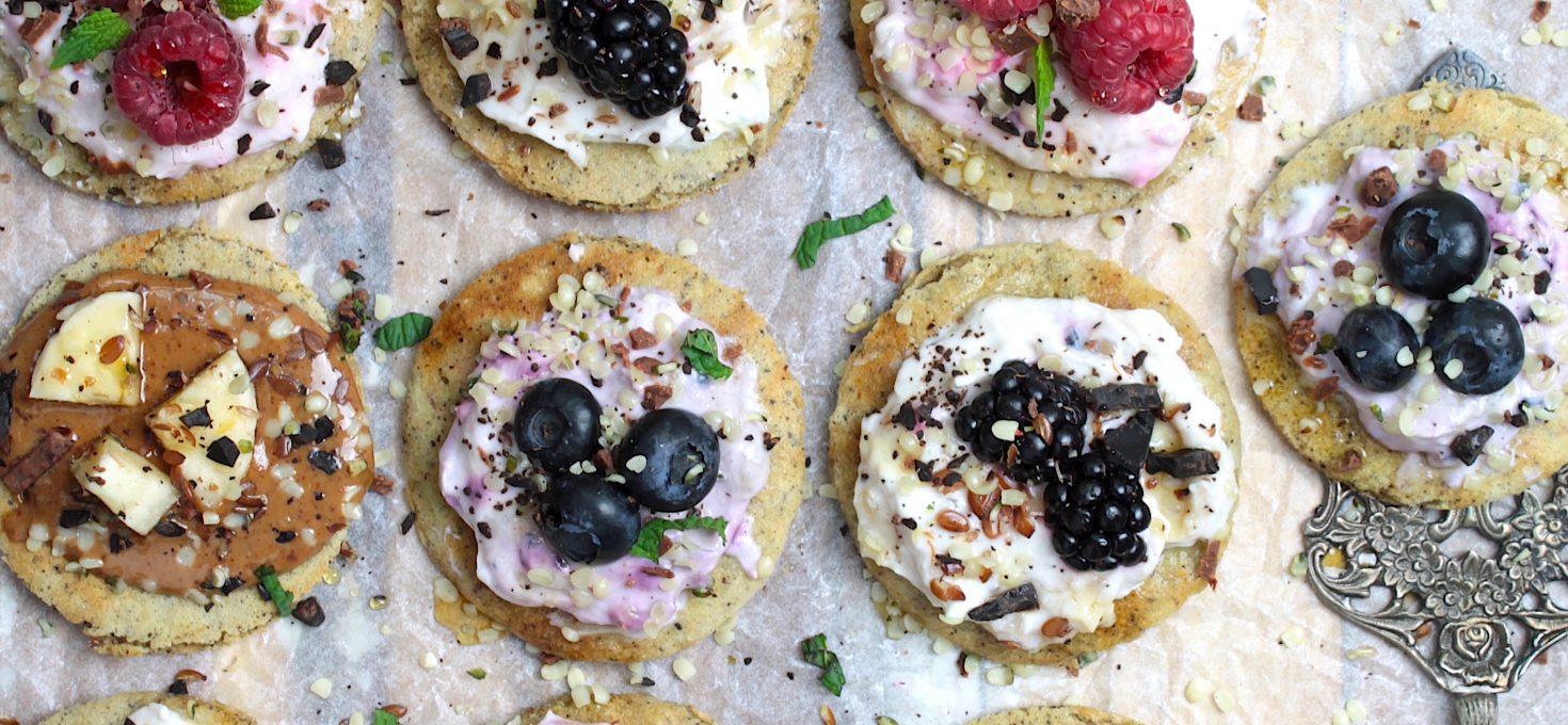 Sugar-free Mini Pancakes