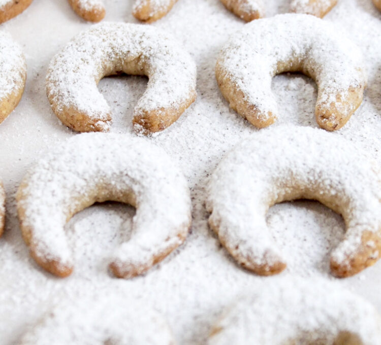 Sugar-free Vanilla Crescents