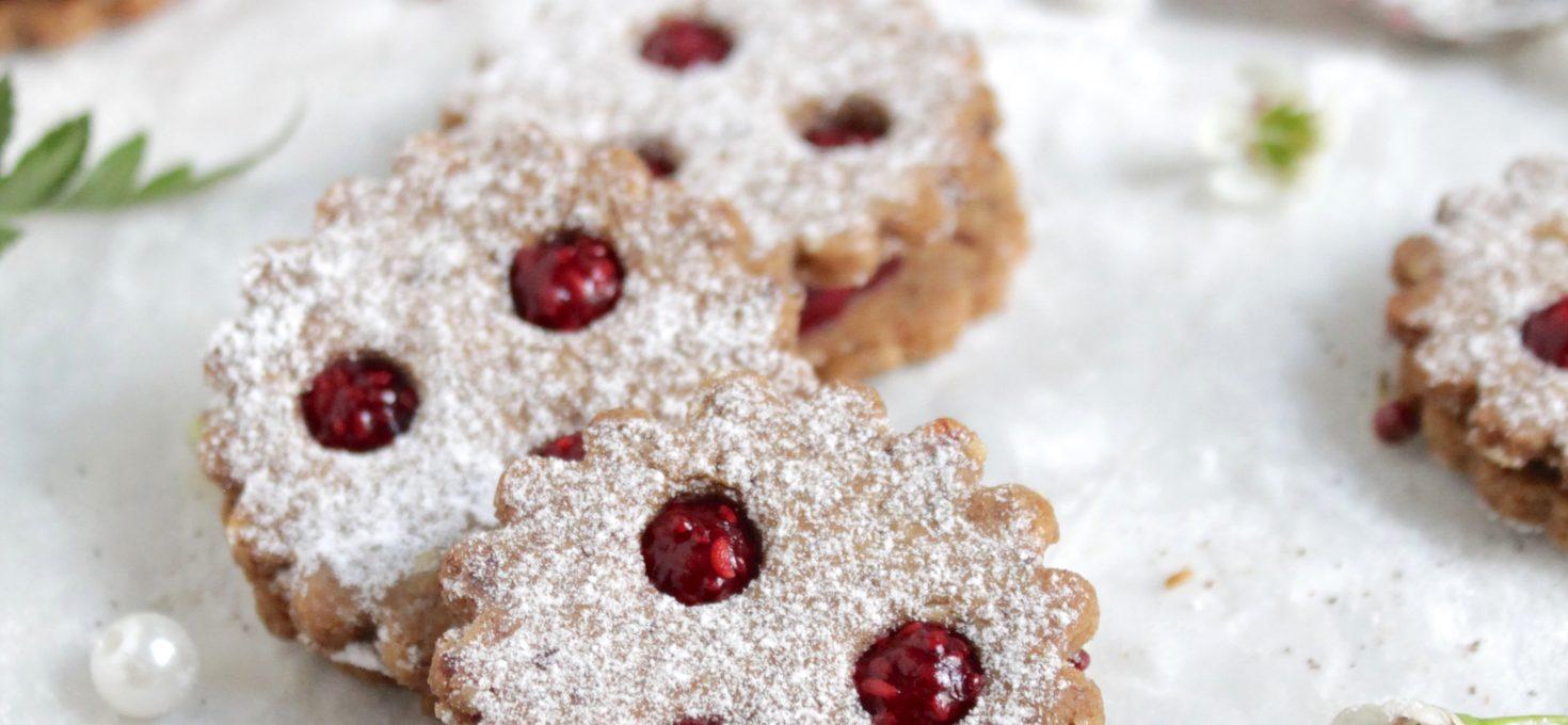 Sugar-free Linzer Cookies