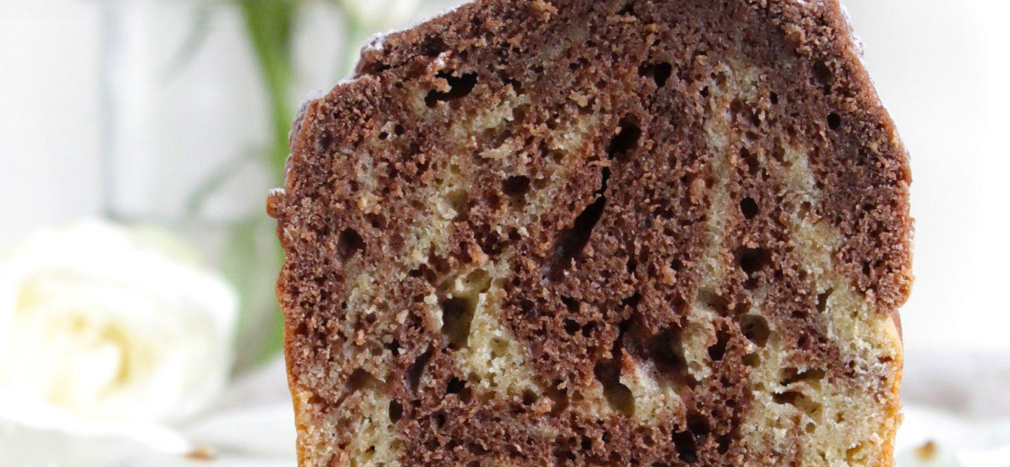 Sugar-free Marble loaf Cake