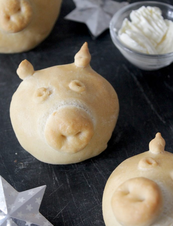 New Years Pig Buns