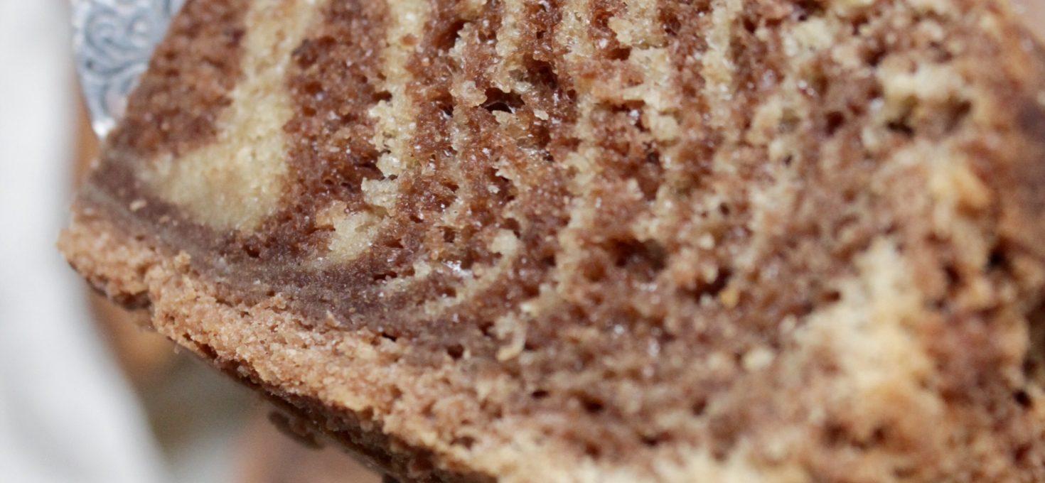 Sugar-Free Zebra Cake