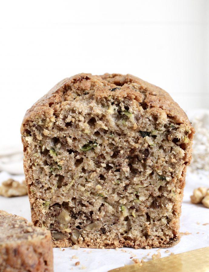 Sugar-free Zucchini Bread