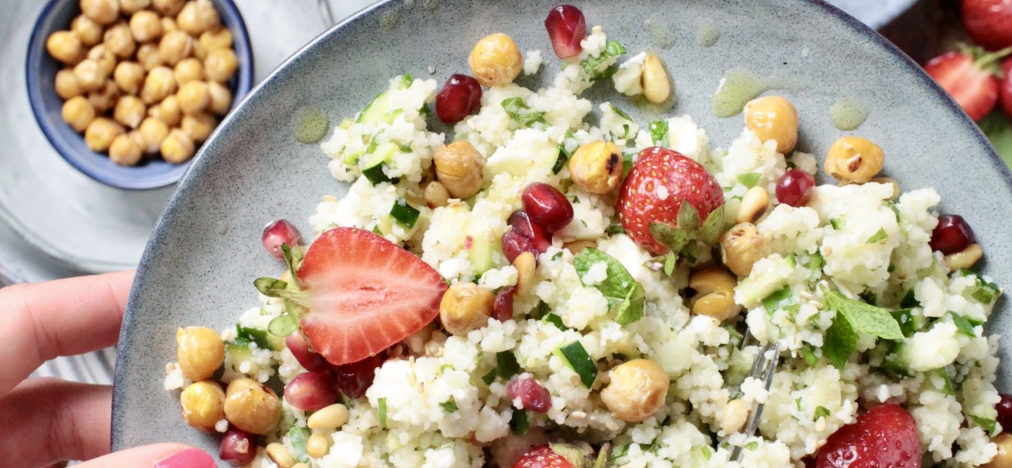 Couscous Strawberry Salad