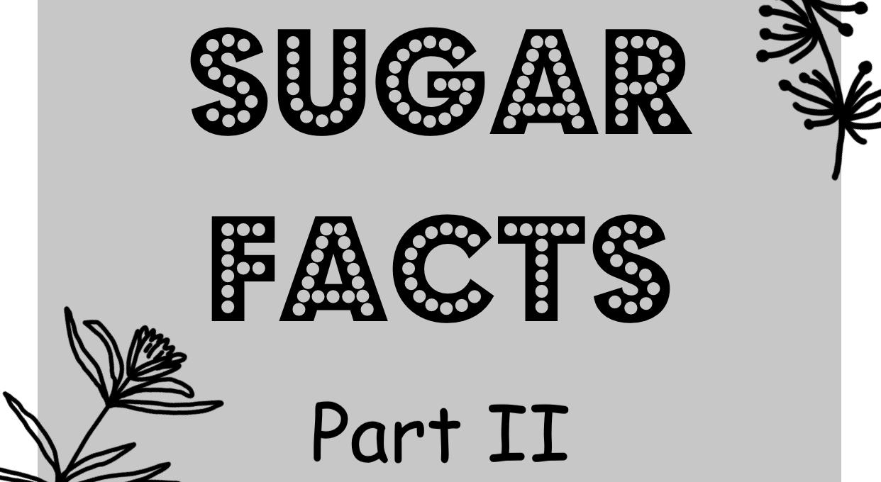 Was ist Zucker und wie verhält er sich im Körper?