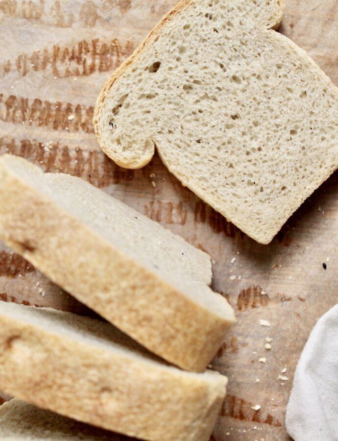 Sauerteig Toast, vegan