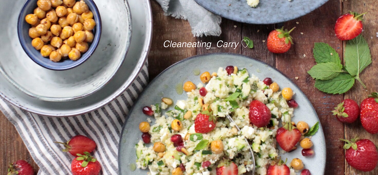 Couscous Strawberry Salad